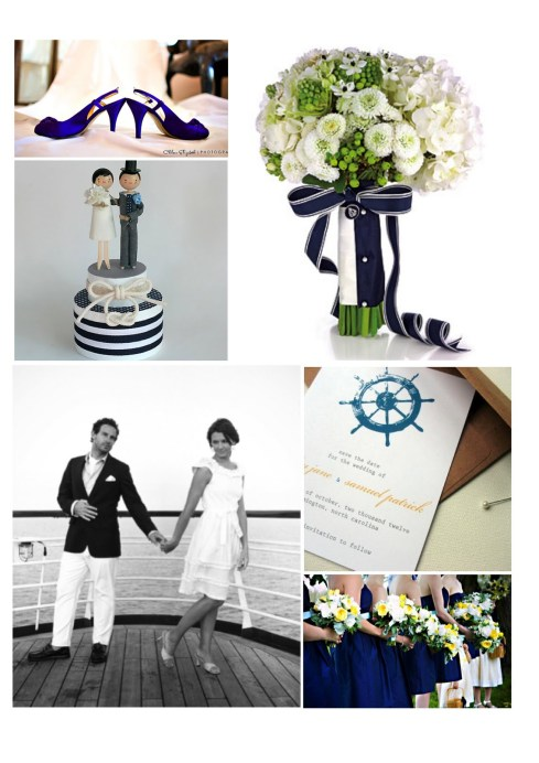 nautical wedding by LWB